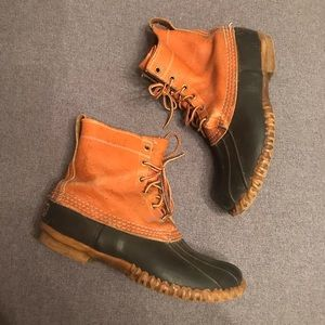 LL Bean Vintage Duck Boots